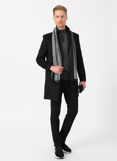 Fabrika Palto Siyah